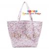Authentic!!! CECIL SILK McBee Collection Bag กระเป๋าสะพาย CECIL ผ้าไหม McBee Collection ลายดอกไม้ สีชมพูวินเทจ หรูหรา สเน่ห์แรงสุดสุด