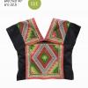 เสื้อผ้าฝ้ายชินมัย ผ้าไทดำ/ผ้าเปียว HSS 003KKK / Handmade Cotton Shirt HSS 003KKK