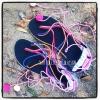 รองเท้าสานผ้าชาวเขา HSA001/ Barefoot Hmong Fabric Shoes HSA001