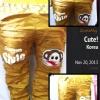 กางเกงเด็กเทห์ๆ สไตล์เกาหลี (สำหรับเด็กอายุ 6 เดือน-4 ขวบ) ขนาด8