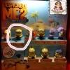 2013 McDonald แมคโดนัลด์ ของเล่น ของสะสม Happy Meal : Despicable ME2 มิสเตอร์แสบ ร้ายเกินพิกัด 2 #7 จอมจับ ทอม ตาเข อยู่ในแพ็ค MIP