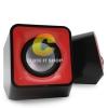 Nubwo BLOCK speaker 2.0 usb ns003 - สีแดง