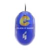 Mouse USB GEARMASTER GT-1001 - Blue