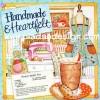 กระดาษสาพิมพ์ลาย สำหรับทำงาน เดคูพาจ Decoupage แนวภาำพ เย็บปักถักร้อย Handmade & Heartfelt ร้านตัดเสื้อ สีหวานๆ (ปลาดาวดีไซน์)