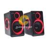 ลำโพง Music D.J. (DJ-268) Black-Red