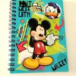สมุดสันห่วง ลาย Micky Mouse & Friends