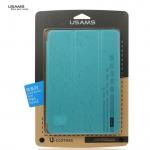 leather case for ipad mini retina USAMS Jane series สีฟ้า