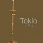 ราวแขวนอเนกประสงค์ ส่งออกญี่ปุ่น ลดพิเศษสูงถึง 50% (สีโอ๊ค-สีสัก)
