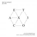 [Pre] EXO : 3rd Album - EX'ACT (Korean Ver.) (Random Ver.) +Poster