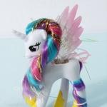 โมเดลม้าโพนี่ My little Pony Princess Celastia ขนาด14 cm