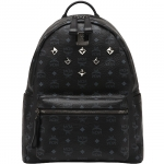 [Pre] MCM 2012 AW Medium Stark Backpack Visetos (BK)