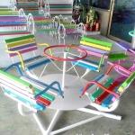 เก้าอี้หมุน4ที่นั่ง