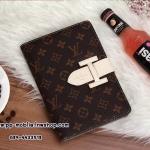 Luxury Louis Vitton brand Genuine Leather Case for iPad 2/3/4