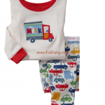 ชุดนอนเด็ก Baby Gap ลาย Milk_Bus ไซส์ 5 ปี