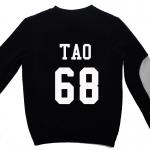 เสื้อ EXO SBS Inkigayo Black / Tao