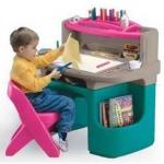 โต๊ะเรียนสุขสันต์ SIZE:51X90X88 cm.