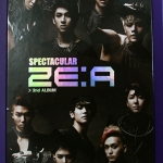 [Pre] ZE:A : 2nd Album - Spectacular (Normal Edition) +Poster