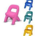 เก้าอี้หลากสี SIZE:32X34X48 cm.