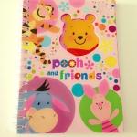 สมุดสันห่วง ลาย Pooh and Friends