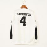 เสื้อ EXO SBS Inkigayo White / Baekhyun