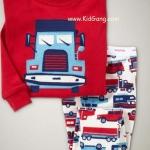 ชุดนอนเด็ก Baby Gap ลาย Truck ไซส์ 4,6 ปี
