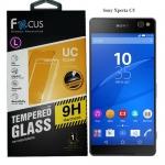 Focus โฟกัส ฟิล์มกันรอยมือถือ ฟิล์มกระจก Sony โซนี Xperia C5