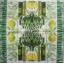 แนวภาพอาหาร ภาพลายแต่งผลไม้ ขวดไวน์ ดอกไม้ บนพื้นขาว กับขอบแต่งอุปกรณ์ครัว เป็นภาพโทนสีเขียว เป็นภาพ 4 บล๊อค กระดาษแนพกิ้นสำหรับทำงาน เดคูพาจ Decoupage Paper Napkins ขนาด 33X33cm thumbnail 2