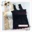 WG098 เสื้อซับในผ้าลูกไม้ แบบเต็มตัว มีฟองน้ำซับใน เนื้อผ้านุ่มยืดหยุ่นตามรูปร่าง รอบอกไม่เกิน 34 นิ้ว ความยาวเสื้อ 50 ซม. มี 3 สี ขาว ครีม ดำ thumbnail 6