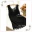 WG034 เสื้อซับใน มี 3 สี ดำ ขาว ครีม เสื้อซับในเต็มตัว แขนกุด ตบแต่งด้วยผ้าลูกไม้ทั้งตัว สวยน่ารัก สามารถใส่เดี่ยวๆ หรือ มีเสื้อคลุมทับก็สวยดูดีคะ งานคุณภาพอย่างดี สินค้าเหมือนแบบ 100 % thumbnail 23