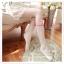 WL017 ถุงน่องแบบเต็มตัว ลายจุด ช่วงข้อเท้ามีลายเชือกพันผูกโบว์ มี 2 สี ขาว ดำ thumbnail 7