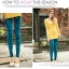 LG009 กางเกงเลคกิ้งขายาว สวยหรู มี 6 สีคะ thumbnail 14