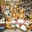 กระดาษอาร์ทพิมพ์ลาย สำหรับทำงาน เดคูพาจ Decoupage แนวภาพ หมี Teddy ล้อมวงเย็บผ้านวมผืนใหญ่ใต้ต้นคริสมาสต์ (ปลาดาว ดีไซน์) thumbnail 1