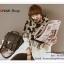PR065 ผ้าพันคอแฟชั่น ผ้าหนา ช่วงปลายประดับด้วยริ้ว อย่างดี งานสวยคะ ขนาด กว้าง 50 ยาว 200 cm. thumbnail 1