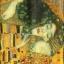 แนวภาพศิลปะ ภาพวาดระดับโลก DER KUSS บนพื้นสีทอง ภาพลายกระจายเต็มแผ่น กระดาษแนพคินสำหรับทำงาน เดคูพาจ Decoupage Paper Napkins ขนาด 21X22cm thumbnail 1