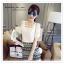 VS007 เสื้อแขนสั้น สีขาว ช่วงแขวผ้าลายดอกไม้ ไหล่เว้า สวยมากคะ ผ้าชีฟอง ใส่สบาย thumbnail 1