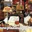กระดาษสาพิมพ์ลาย สำหรับทำงาน เดคูพาจ Decoupage แนวภาำพ เจ้าแมวจอมยุ่ง นอนหลับปุ๋ย บนโต๊ะวางจักร และไหมพรมถักตุ๊กตา thumbnail 1