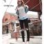 LG016 กางเกงเลคกิ้งขายาว ประดับด้วยลายน่ารัก มี 12 ลาย thumbnail 23