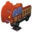 โยกเยกสปริงรถดับเพลิง SIZE:35X77X71 cm. thumbnail 1