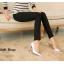 LG014 กางเกงเลคกิ้งขายาว เรียบหรู มี 6 สี คะ thumbnail 15