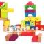บล็อคไม้ต่อสร้างเมือง สร้างปราสาท 33 ชิ้น ลาย Happy Family thumbnail 2