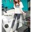 LG016 กางเกงเลคกิ้งขายาว ประดับด้วยลายน่ารัก มี 12 ลาย thumbnail 35
