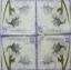แนวภาพ ดอกกล้วยไม้บนโปสการ์ด ภาพโทนสีม่วง เป็นภาพ 4 บล๊อค กระดาษแนพกิ้นสำหรับทำงาน เดคูพาจ Decoupage Paper Napkins ขนาด 33X33cm thumbnail 2