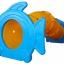 อุโมงค์ปลาการ์ตูน SIZE:148X304X130 cm. thumbnail 1