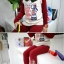 Huanshu kids ชุดเซ็ทเด็ก เสื้อแขนยาวคอกลม + กางเกงขายาว สไตล์เกาหลี มีสีน้ำเงิน ขนาด120 thumbnail 2