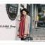 PR075 ผ้าพันคอแฟชั่น ผ้าขนสัตร์(เทียม) พิมพ์ลายสวย หนานุ่ม อย่างดี งานสวยคะ ขนาด กว้าง 65 ยาว 190 cm. thumbnail 3