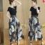 ชีฟองขากางเกงชุดสูทหญิง แฟชั่นเกาหลี