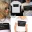 เสื้อยืดตัวใหญ่ สกรีนลาย ballinciaga harem t-shirt ผ้าคอตตอนเนื้อดีใสสบายค่ะ มา 2 สี ขาวและดำ thumbnail 8