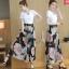 ชีฟองขากางเกงชุดสูทหญิง แฟชั่นเกาหลี thumbnail 2