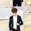 เสื้อสูทแฟชั่นเกาหลี รุ่นลายสก๊อต thumbnail 7