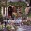 กระดาษสาพิมพ์ลาย rice paper สำหรับทำงาน handmade เดคูพาจ Decoupage แนวภาพ ตกแต่งบ้านและสวน เบื้องหลังร้านขายดอกไม้ ย่อมมีดอกไม้งามแอบซ่อนอยู่ อิอิ ปลาดาว ดีไซน์ thumbnail 1